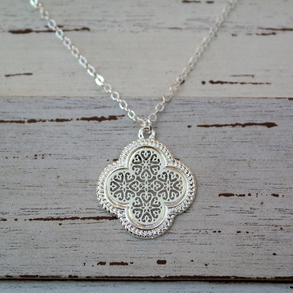 Revitalized jewelry last one clover quatrefoil pendant necklace last one clover quatrefoil pendant necklace aloadofball Choice Image
